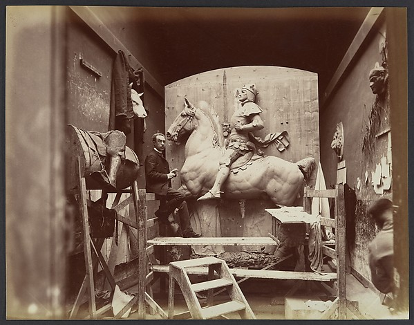 Edmond Bénard (French, 1838–1907) [Emmanuel Frémiet], 1880s–90s Albumen silver print from glass negative; Image: 20.6 × 26.4 cm (8 1/8 × 10 3/8 in.) The Metropolitan Museum of Art, New York, Gilman Collection, Museum Purchase, 2005 (2005.100.848) http://www.metmuseum.org/Collections/search-the-collections/285885