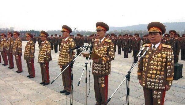 korean generals